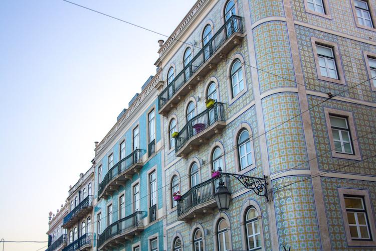 Principe-Real tegeltjes gebouwen
