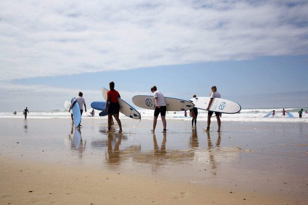 Progress Surfcamps Moliets Frankrijk