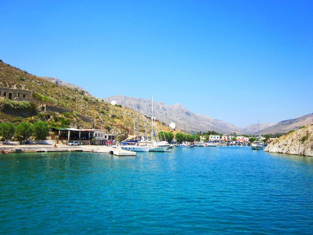 Pserimos kos griekenland
