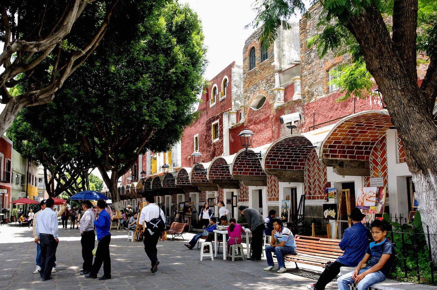 Puebla Mexico Kunstenaars