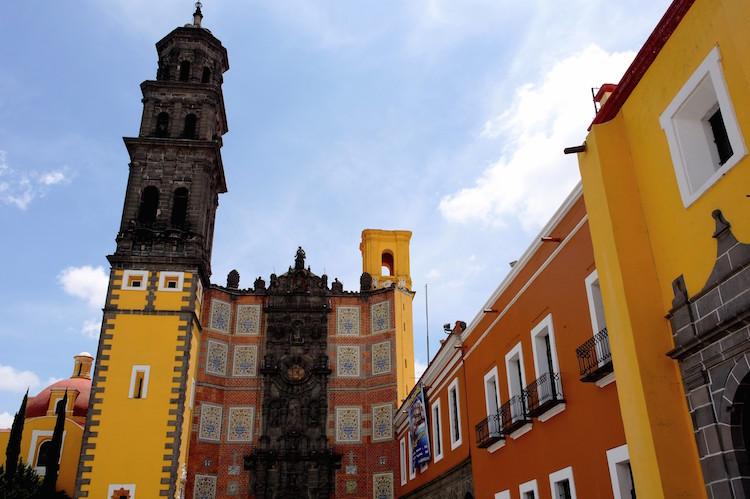Puebla Mexico Templo de Santo Domingo