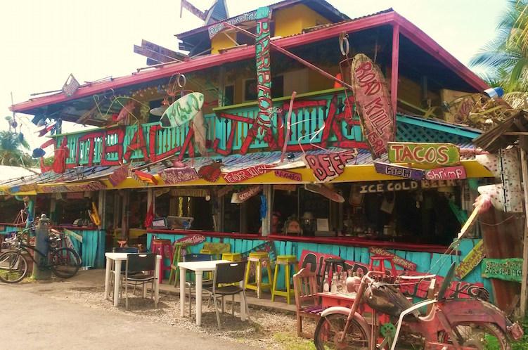 Puerto Viejo restaurant