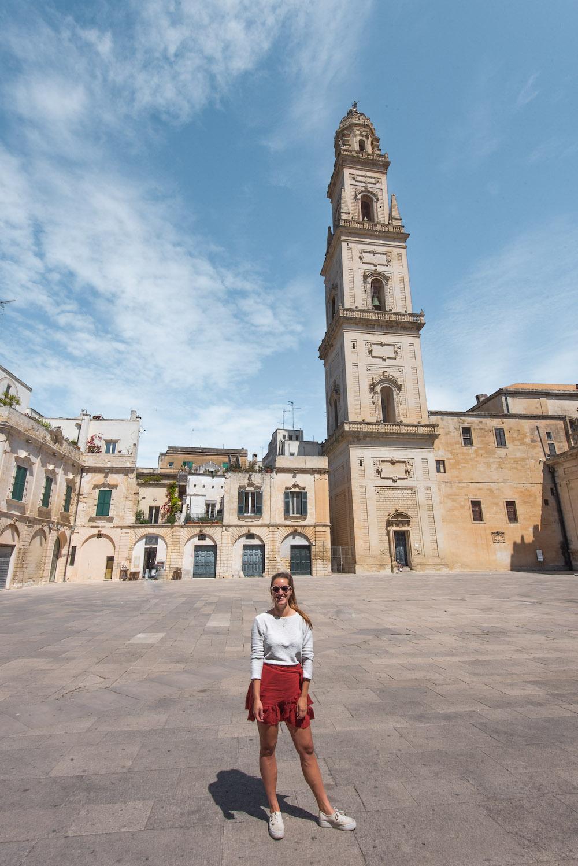 Puglia Lecce Piazza del Duomo