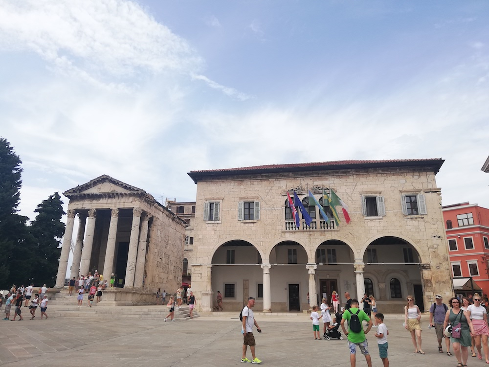 Pula, Istrië cultuursnuiven
