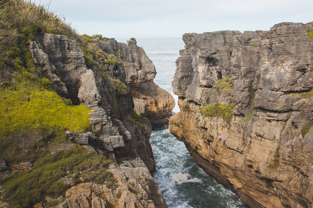 Punakaiki nieuw zeeland pancake rocks