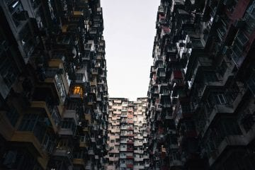 Quarry Bay Buildings Hong Kong