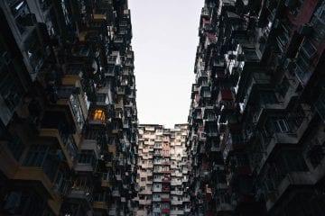 Quarry Bay Buildings Hong Kong