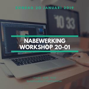 REISFOTOGRAFIE nabewerking workshop 20 januari