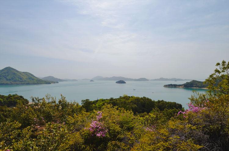 Rabbit Island viewpoint Okunoshima