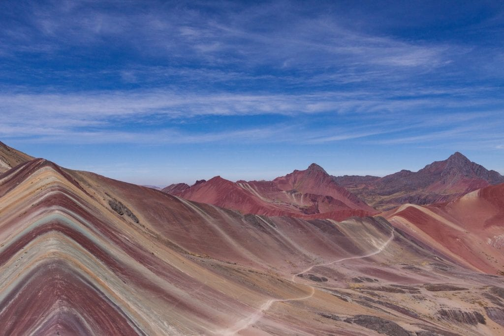 Peru top 10 Rainbow Mountains in Peru
