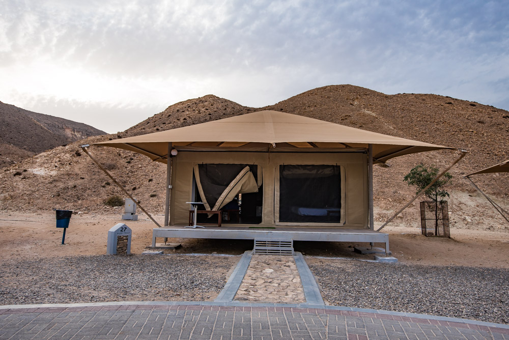 Ras Al Jinz Turtle Reserve Oman tent