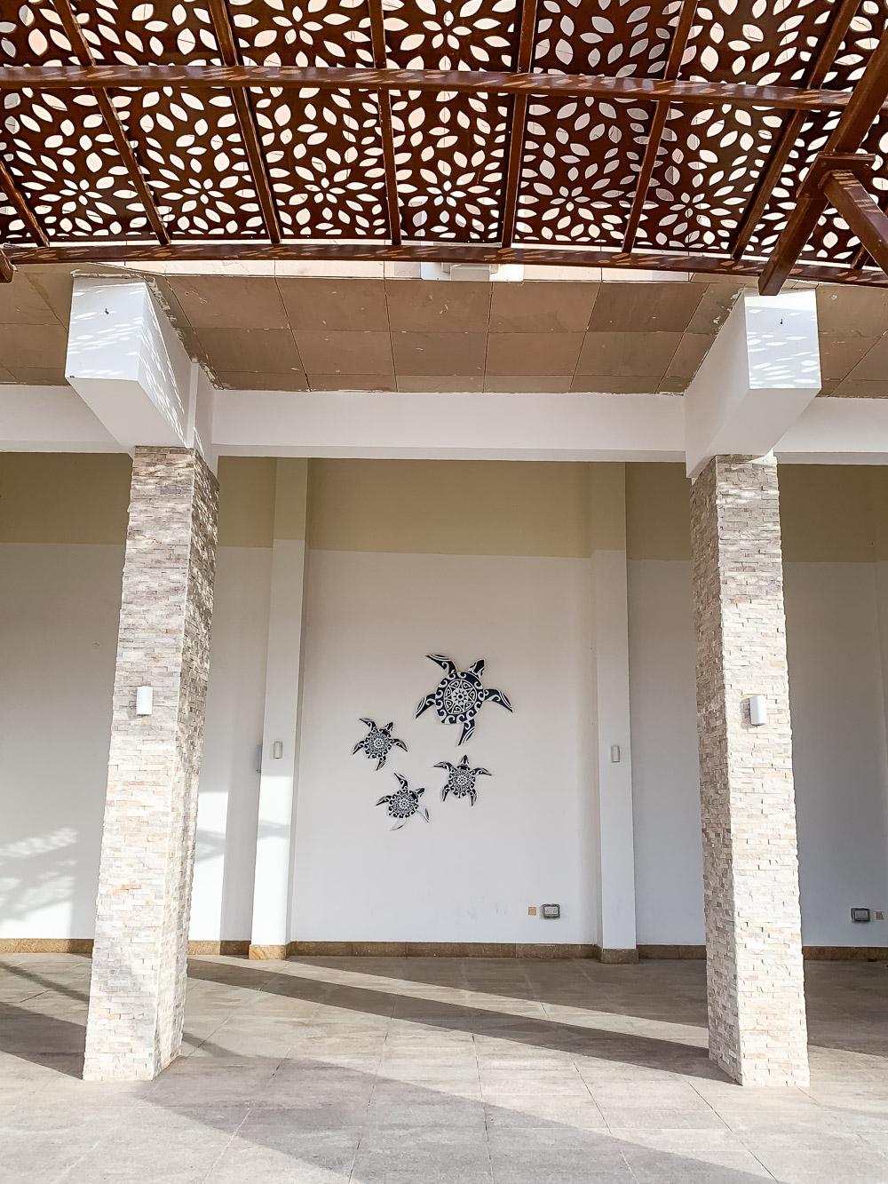Ras Al Jinz Turtle Reserve ingang hotel
