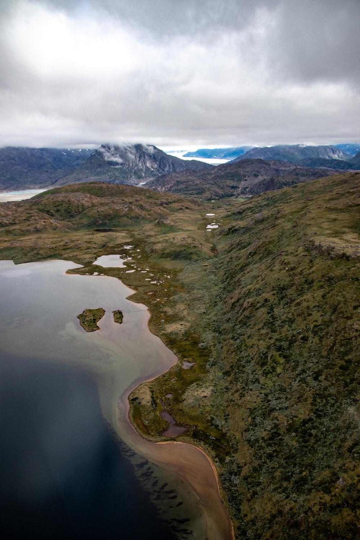 Reis Groenland helikopter