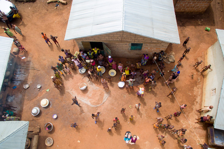 Reis naar Benin Afrika werken videomakers