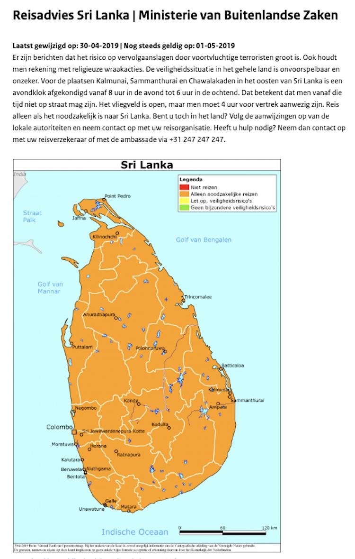 Reisadvies Sri Lanka