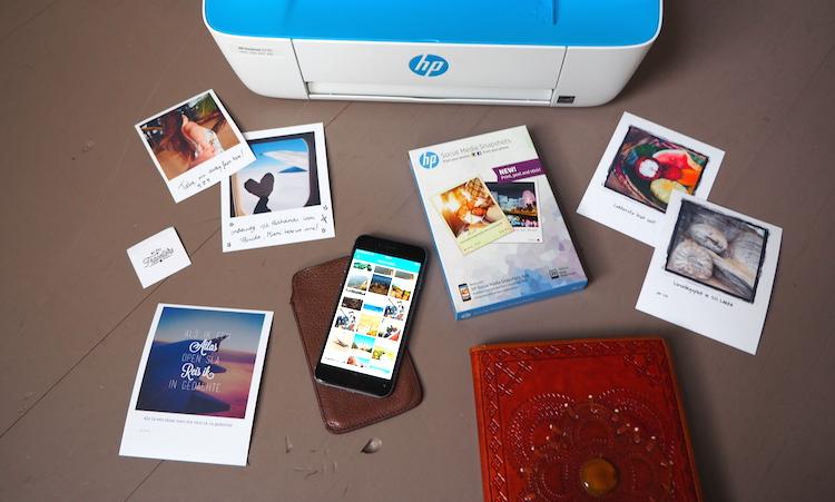 Reisdagboek HP Printer foto's