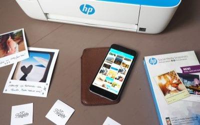 Reisdagboek maken HP polaroids