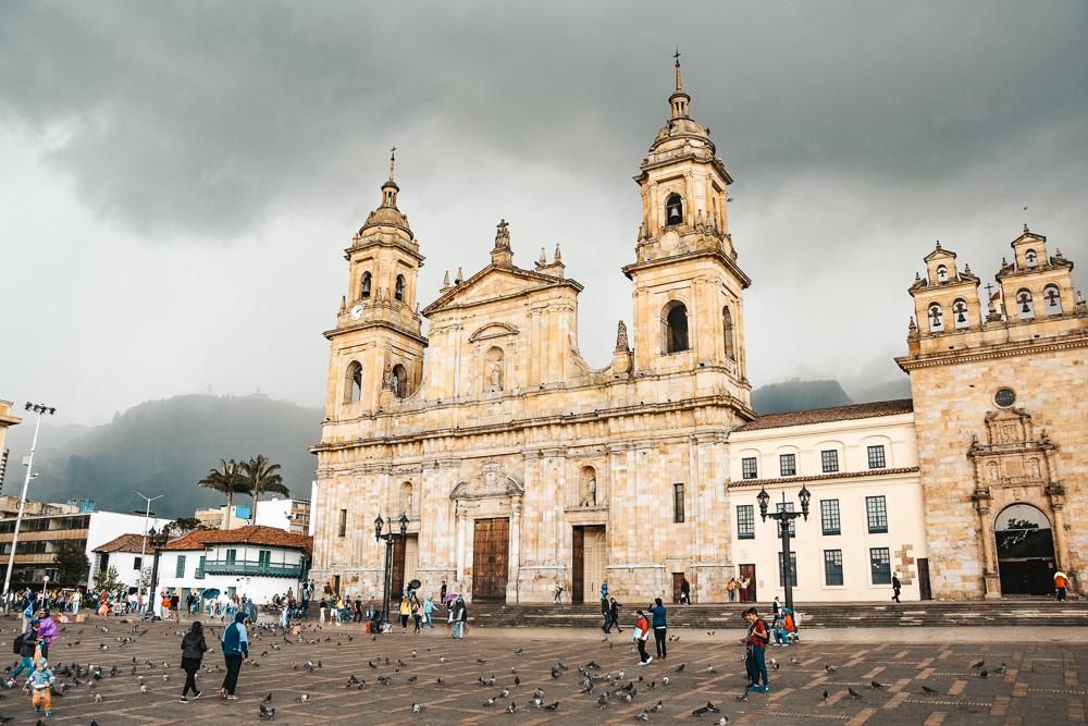 Reisroute Colombia Bogota kerk