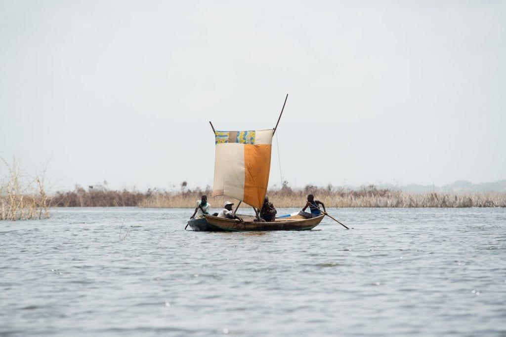 Reizen naar Benin in Afrika Ganvie (Riske)