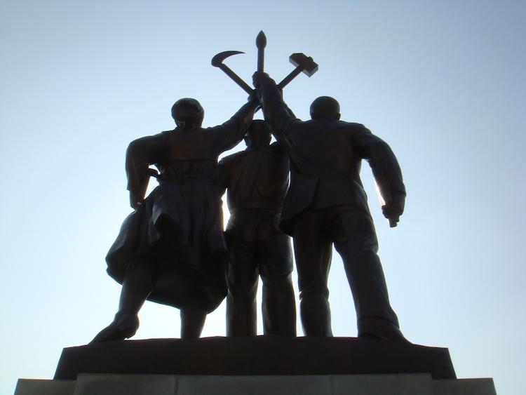 Reizen naar Noord-Korea beelden