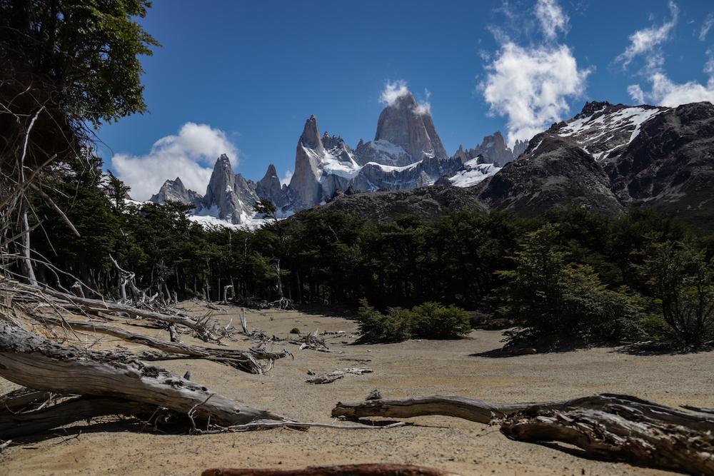 Reizen naar Patagonie hikes