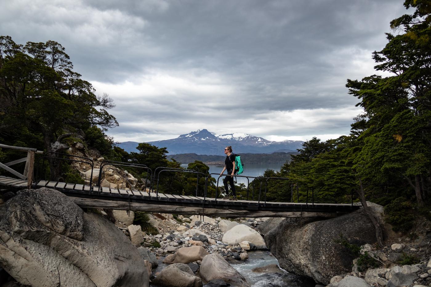Reizen naar Patagonie populaire wandelingen