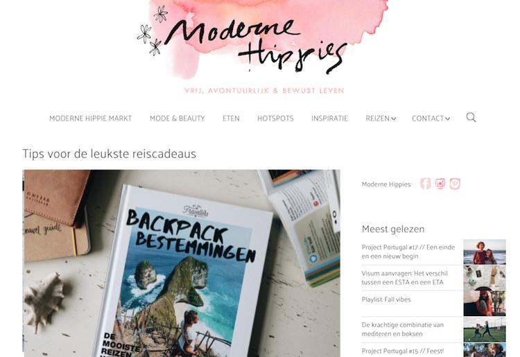 Review ModerneHippies BackpackBestemmingen