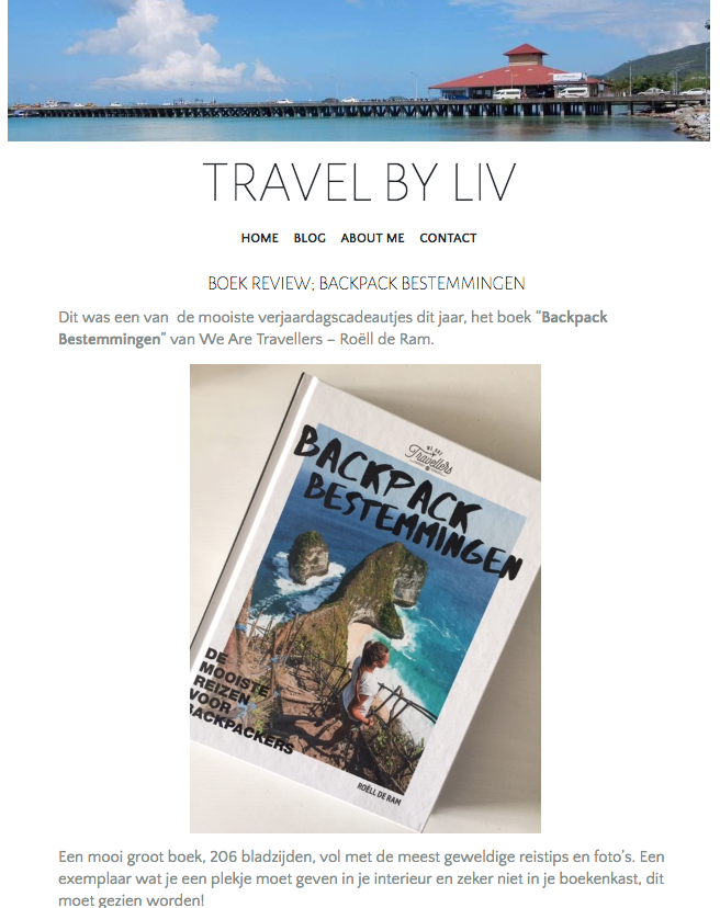 Review Travel by Liv boek