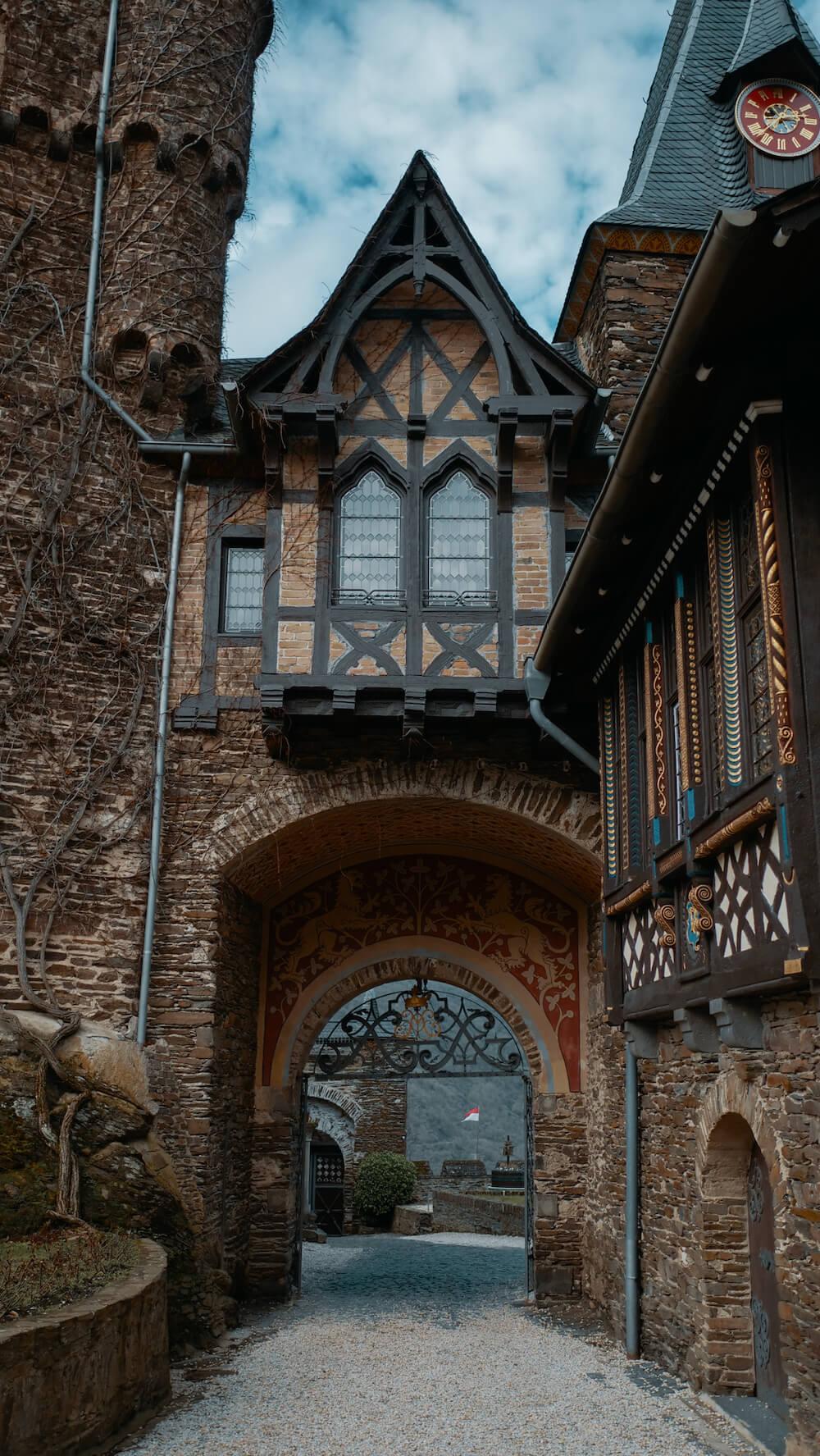 Rijksburch Cochem in duitsland