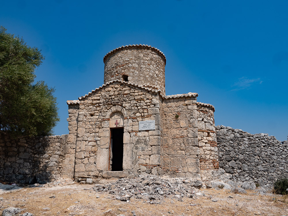 Roadtrip Albanie tips church Orikum