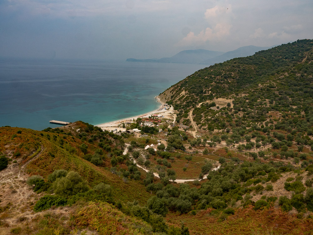 Roadtrip Albanie tips drymades beach