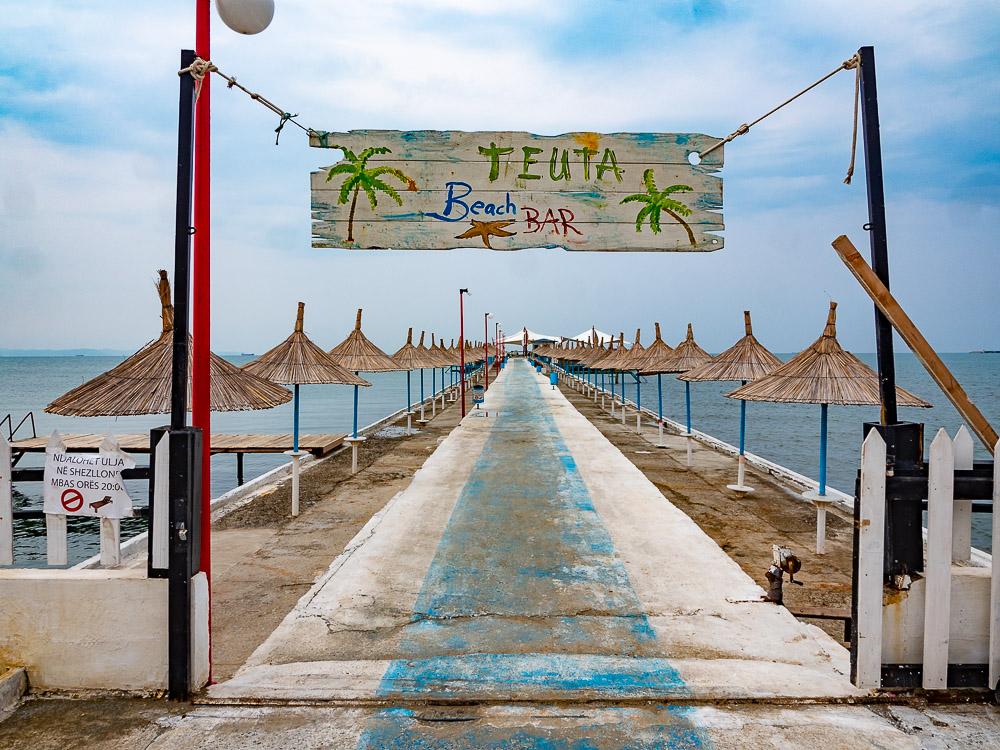 Roadtrip Albanie tips strand durres