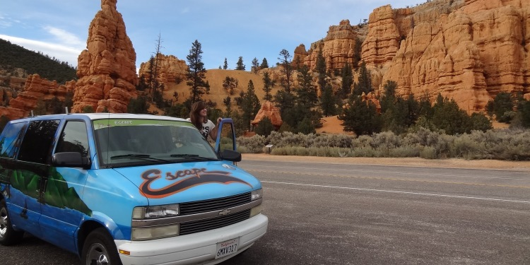 Roadtrip Amerika Escape Campervan