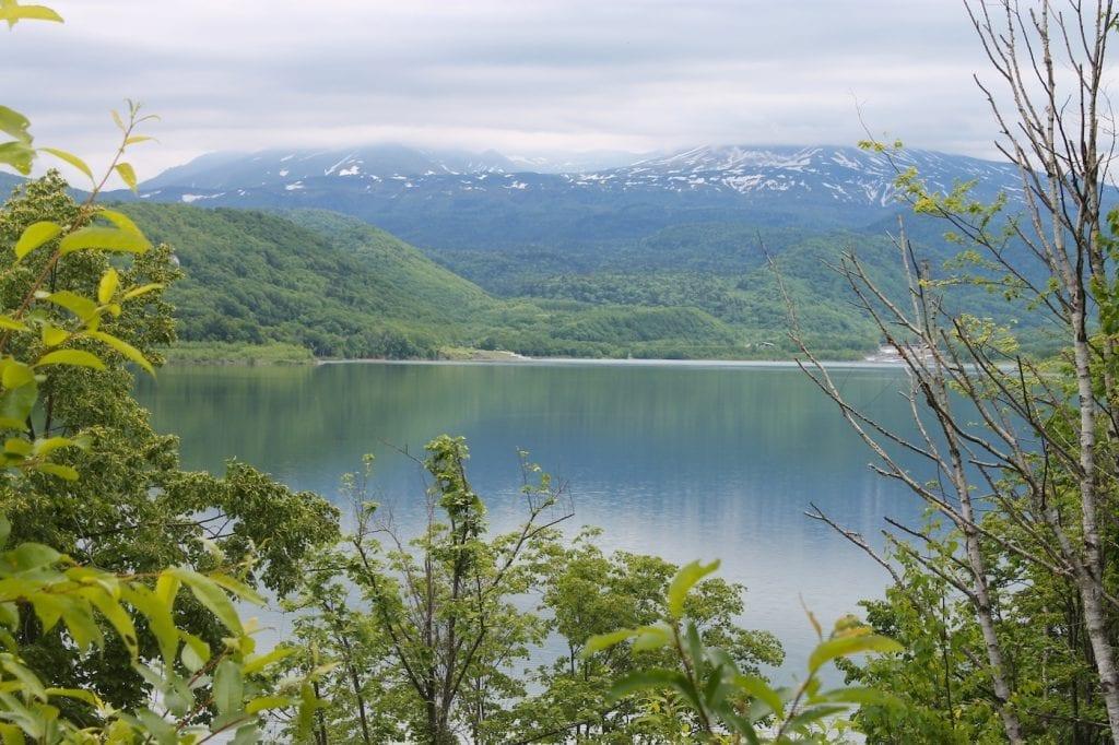 Roadtrip Hokkaido Japan Blue pond