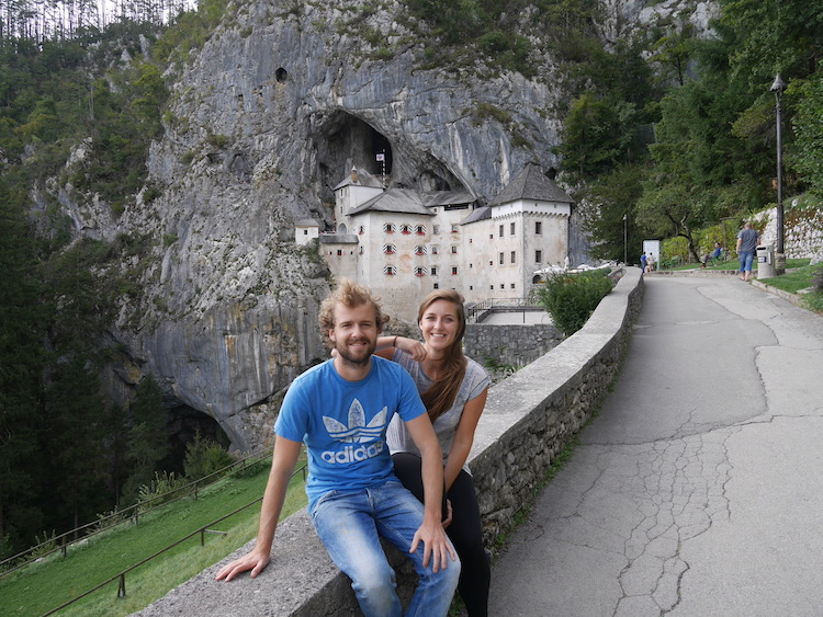 Roadtrip Slovenie Predjama kasteel