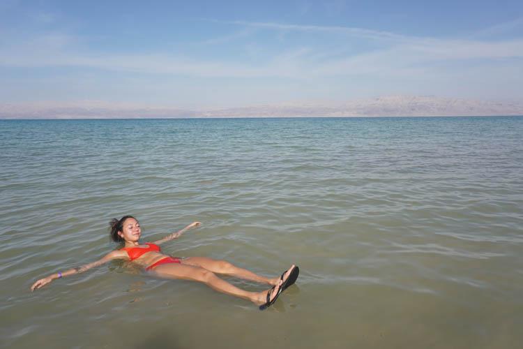 Roadtrip israel jordanie dode zee