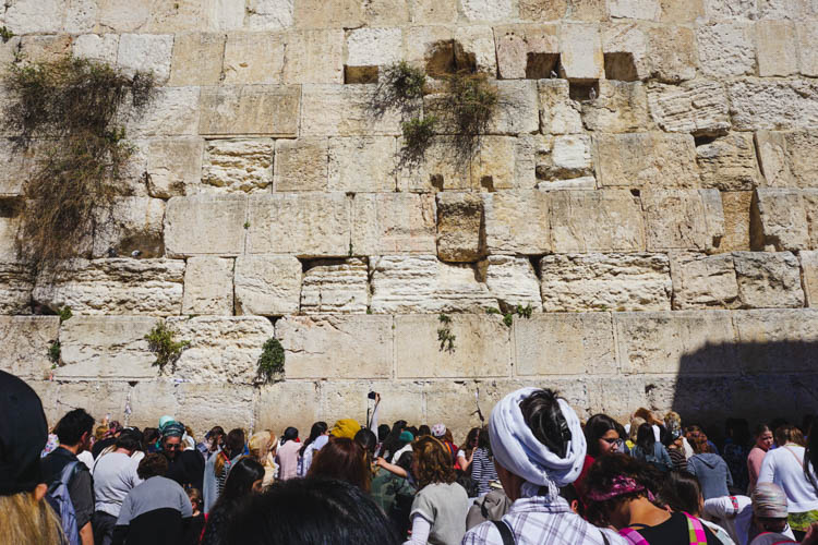 Roadtrip israel jordanie jeruzalem klaagmuur