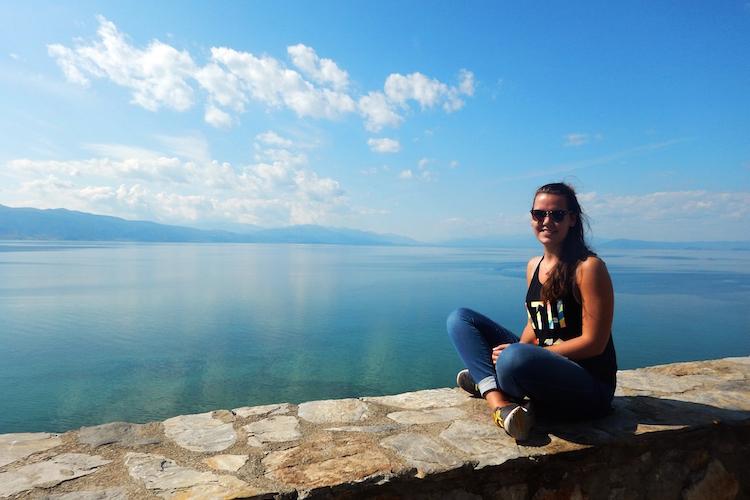 Roadtrip lake ohrid macedonie