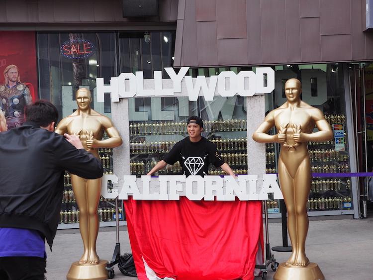 Roadtrip los angeles hollywood