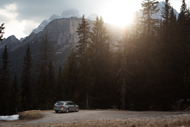 Roadtrip maken in de bergen van Dolomieten