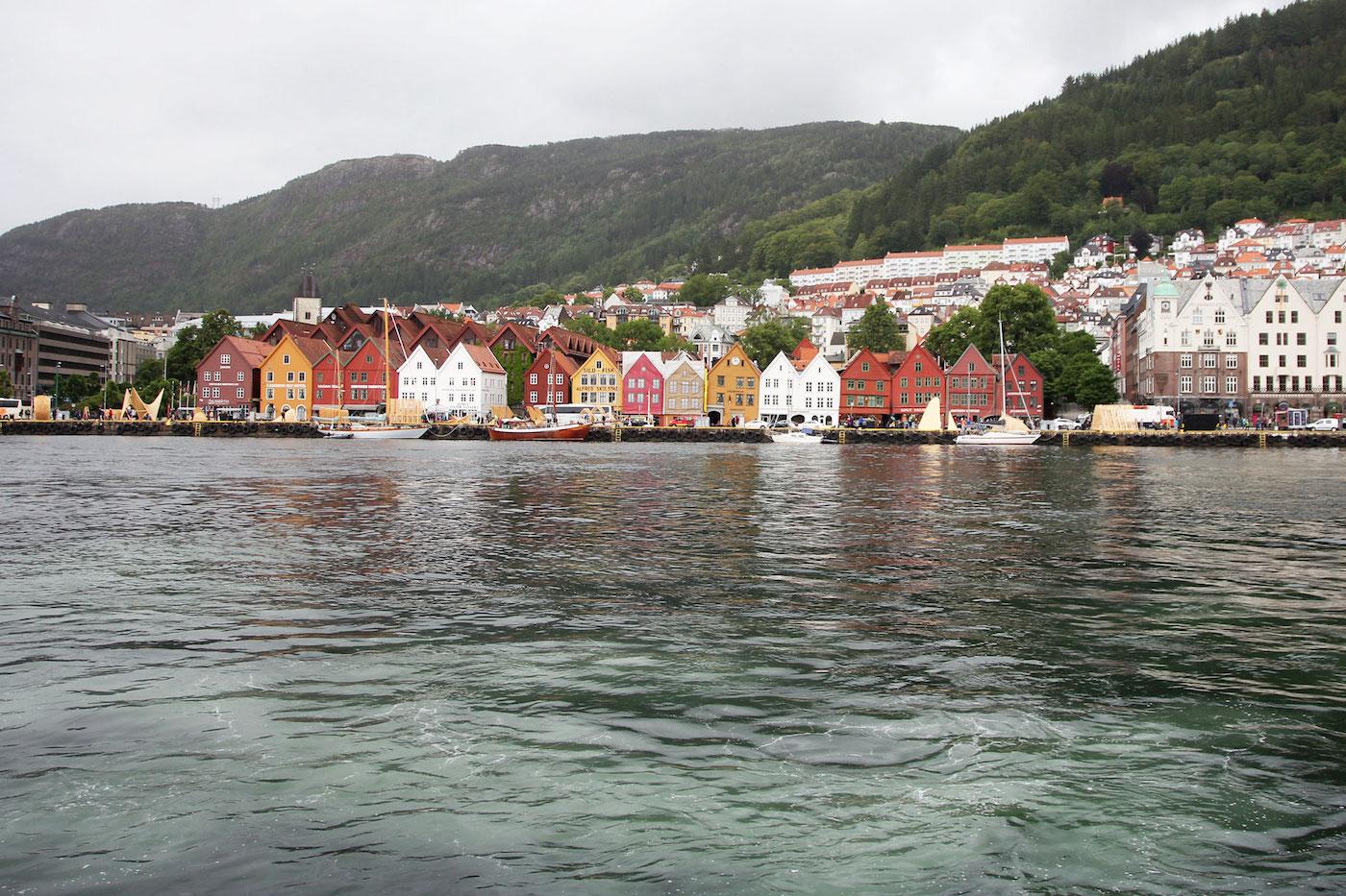 Roadtrip noorwegen zuiden Bergen