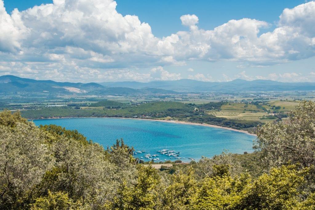 Roadtrip route toscane Etruskische Kust (op weg naar Populonia)
