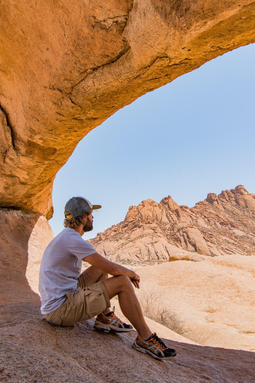 Rock Arch Spitzkoppe Namibie