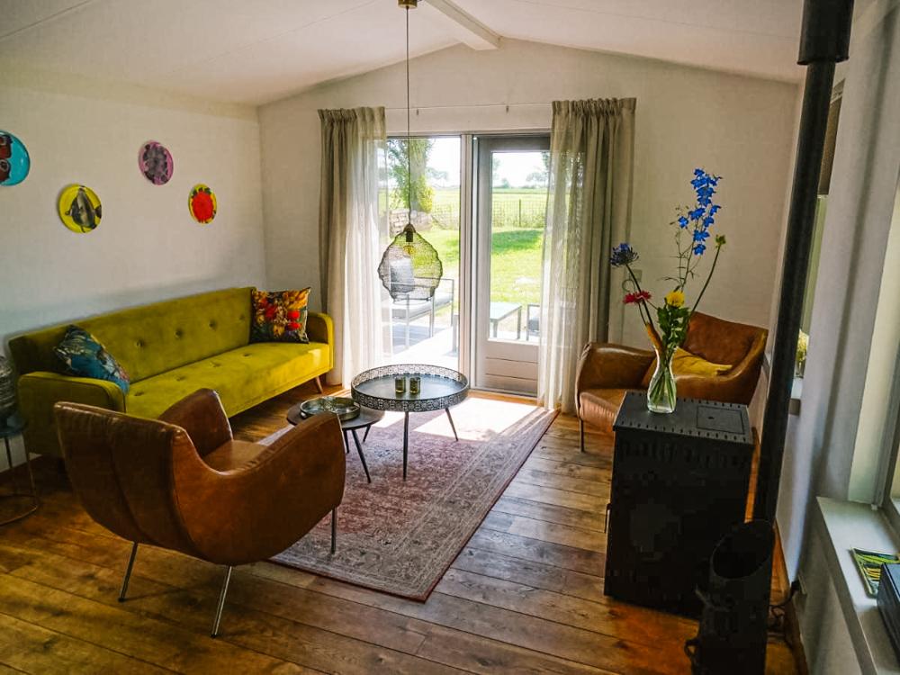 Roer huisje aan de maas tiny house nederland