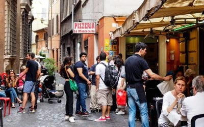 Rome eten tips pizzeria