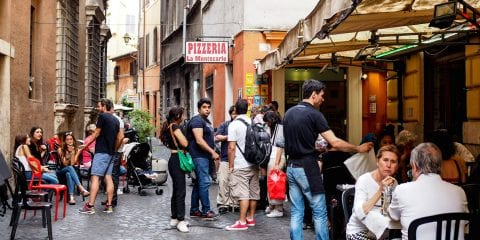 Rome eten tips pizzeria