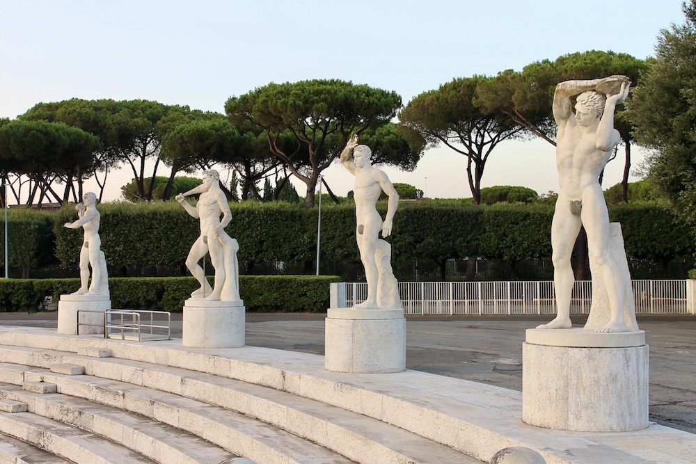 Rome off the beaten track olympisch stadion