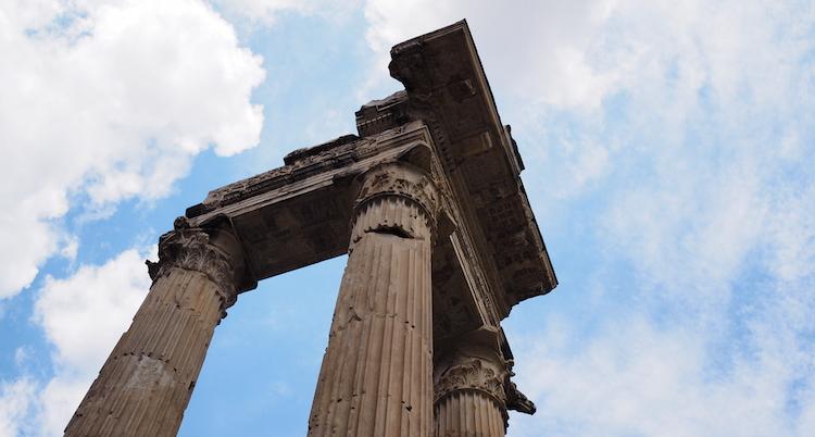 rome joodse wijk ruines