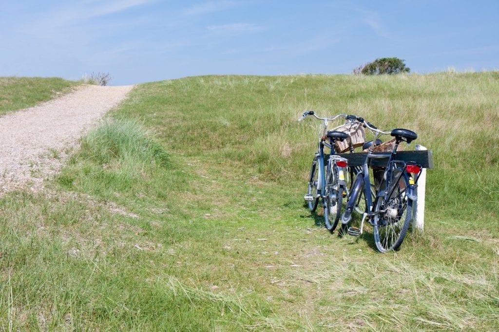 Rondje Texel fietsen