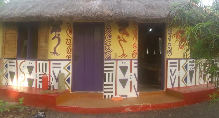Rondreis Ghana huisje